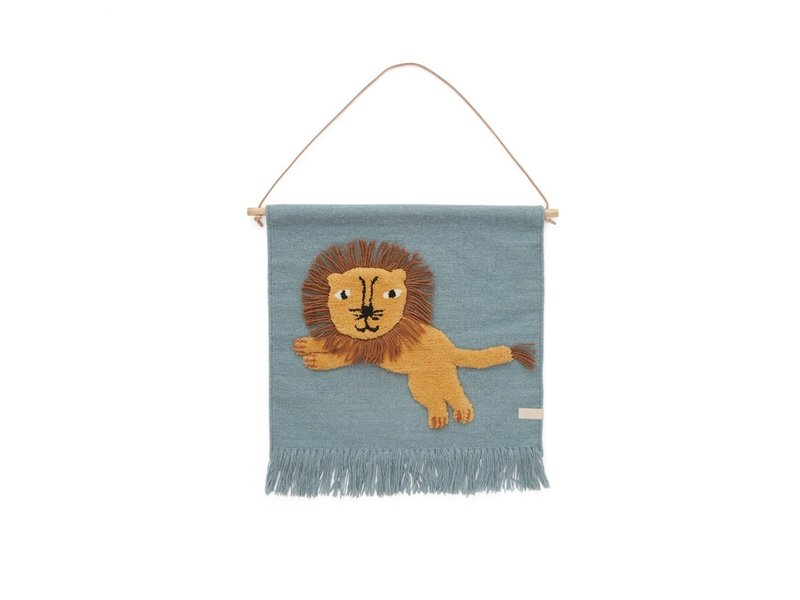 OYOY Lion wall hanger