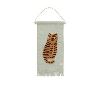OYOY Vägghängare tiger
