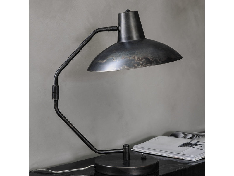 House Doctor Schreibtisch Tischlampe braun