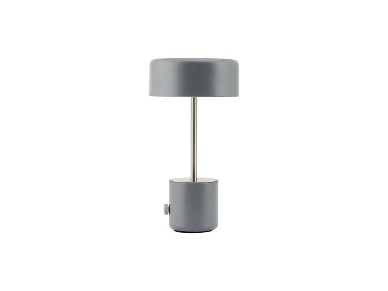 House Doctor Medbring bordlampe grå - trådløs LED-lampe
