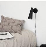 House Doctor Exakt vägglampa - matt svart