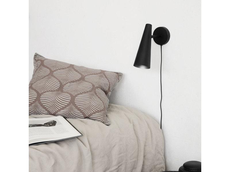 House Doctor Precise wandlamp - mat zwart
