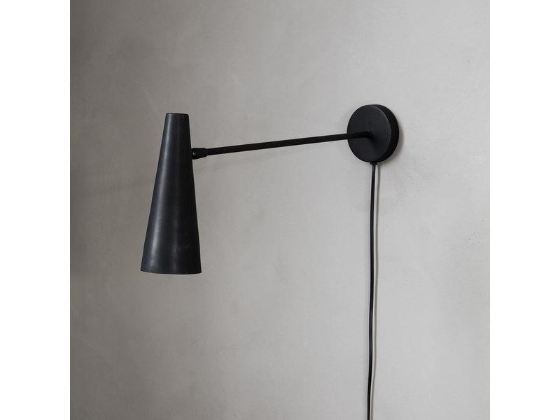 House Doctor Precise wandlamp - matt zwart