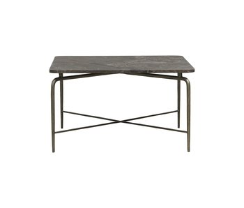 House Doctor Table basse carrée - brun 80x80x45cm