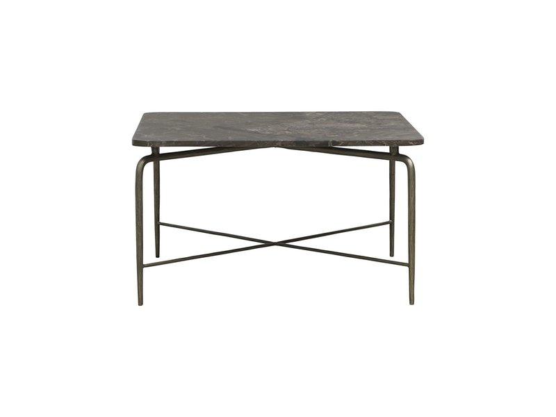 House Doctor Square salontafel - bruin 80x80x45cm