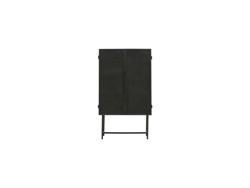 House Doctor Collect kast - zwart 80x38x135cm