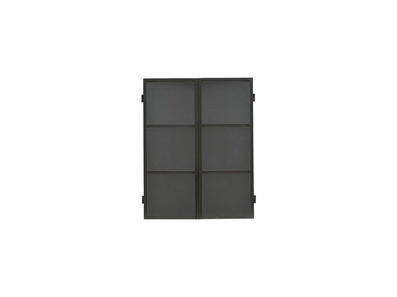 House Doctor Samla väggskåp - svart