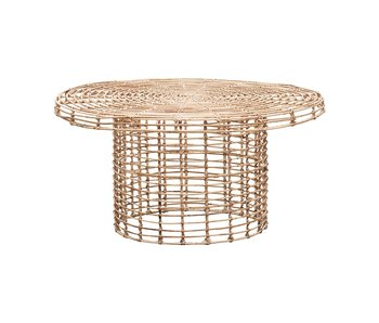 House Doctor Nature coffee table rattan - Copy