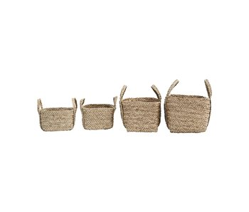 House Doctor Sikar baskets - set of 4 pieces