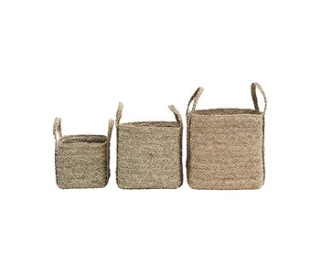 House Doctor Sikar baskets - set of 3 pieces