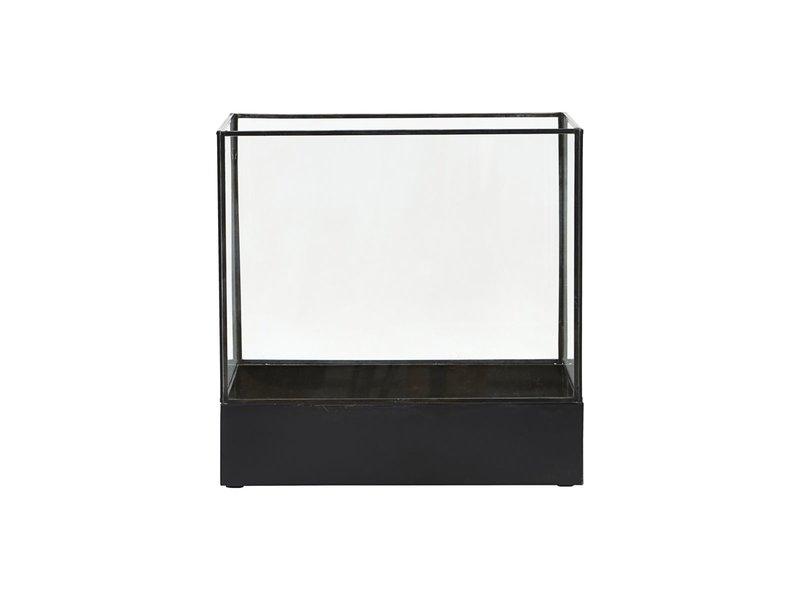 House Doctor Växtdisplaybox - antik svart