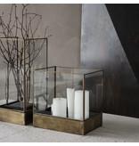House Doctor Plant display box - antiek messing