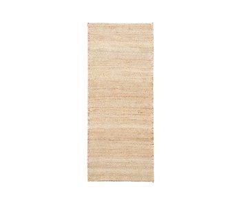House Doctor Mara tæppe - nøgen 240x100cm
