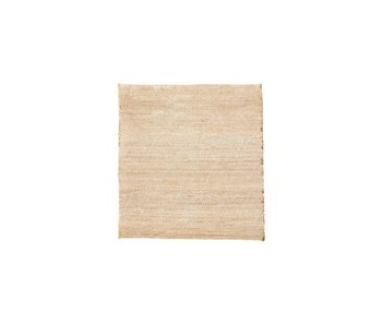 House Doctor Mara tæppe - nøgen 180x180cm