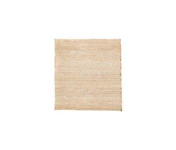 House Doctor Mara vloerkleed - nude 180x180cm