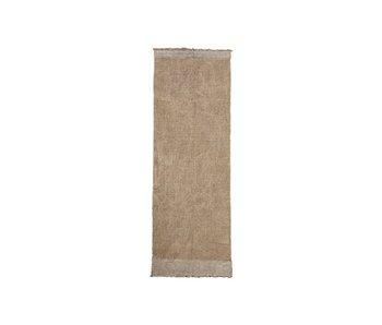 House Doctor Shander-tæppe - grå 200x90cm