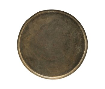 House Doctor Jhansi tray - brass