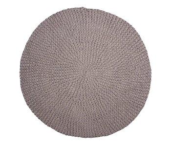 House Doctor Crochet kleed - grijs