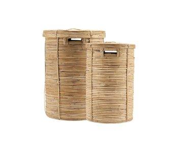 House Doctor Set de cestas de chaka (lavandería) de 2 piezas