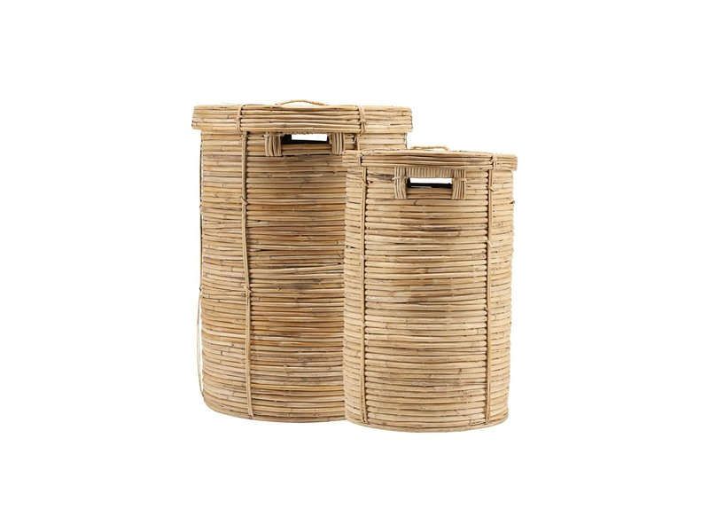 House Doctor Chaka (laundry) baskets set of 2 pieces