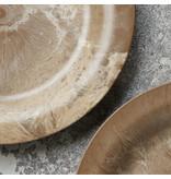 House Doctor Serveur borden - goud DIA 24cm  - set van 8 stuks