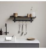 House Doctor Serveringsplater - gull DIA 24cm - sett med 8 stk