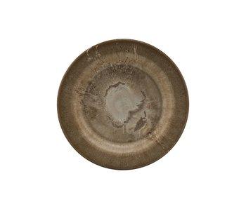 House Doctor Serveurplattor - guld DIA 18cm - uppsättning av 8 delar
