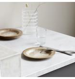 House Doctor Serveur borden - goud DIA 18cm  - set van 8 stuks