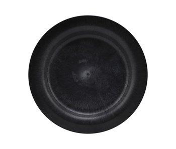 House Doctor Serveringsplattor - svart DIA 24cm - uppsättning av 8 delar