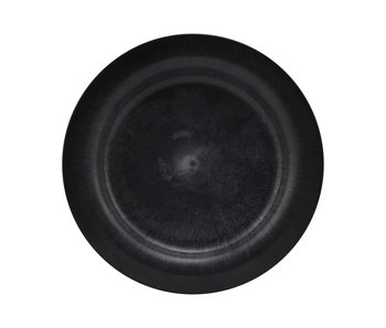 House Doctor Serving plates - black DIA 24cm - set of 8 pieces