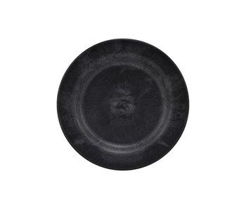House Doctor Assiettes de service - DIA noir 18 cm - ensemble de 8 pièces
