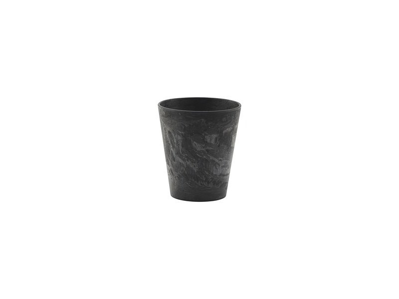 House Doctor Serving cups - black - set of 8 pieces