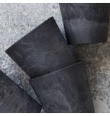 House Doctor Serveur  bekers - zwart- set van 8 stuks