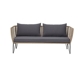 Bloomingville Mundo sofa - brown