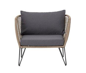 Bloomingville Chaise longue Mundo - marrone