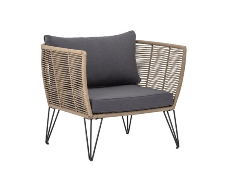 Bloomingville Mundo Lounge Sessel - braun