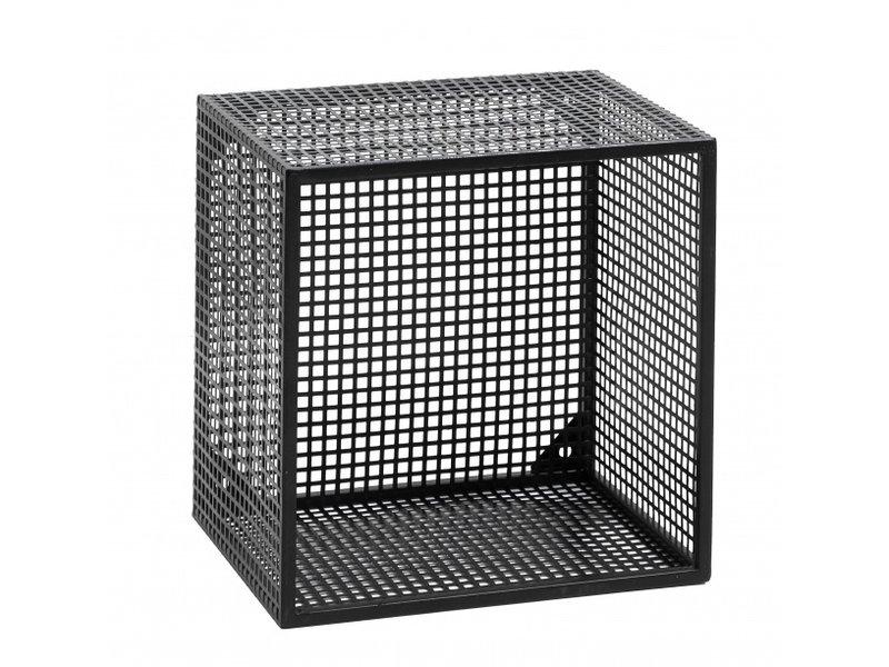 Nordal Wire wandkast S - zwart