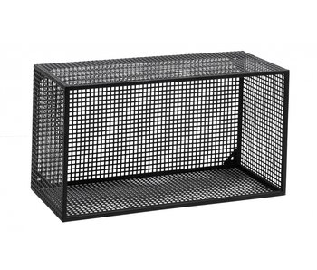Nordal Wire wall cabinet L - black