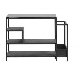 Nordal Shoe rack - black