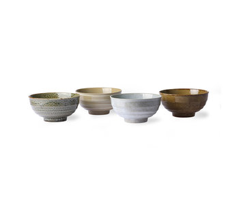 HK-Living Kyoto noodle dishes - set of 4 pieces