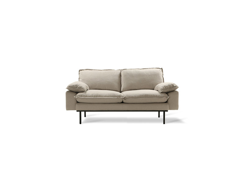 Hk Living Retro Sofa 2 Seater Cozy