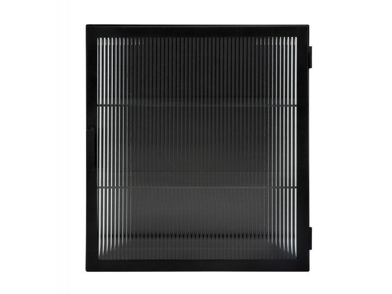 Nordal Groovy väggskåp - svart