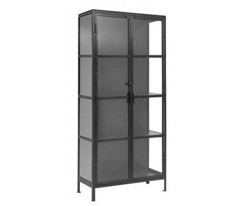 Nordal Phoenix cupboard with 2 doors small - black