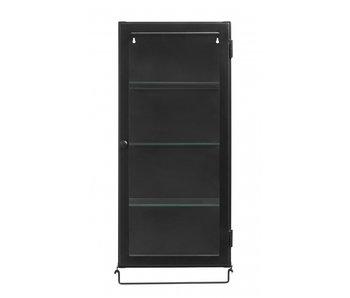 Nordal Siri wall cupboard - black