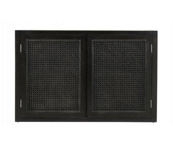 Nordal Unisci armadio con fettuccia - nero