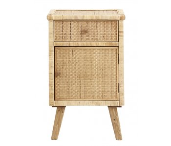 Nordal Rata cupboard small - natural