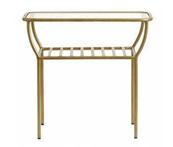 Nordal Chic side table - gold