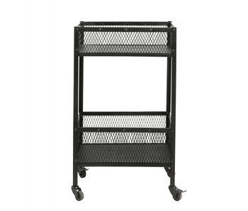 Nordal Easy trolley small - zwart