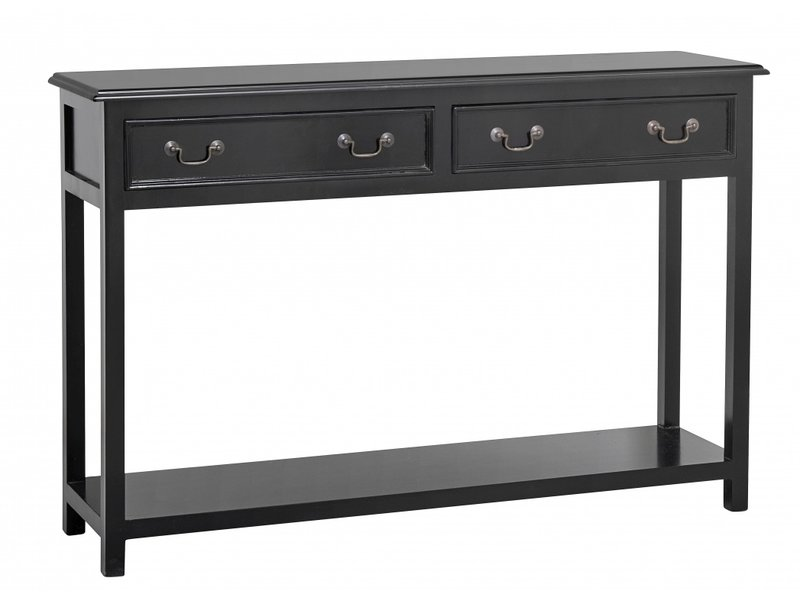 Nordal Moss Console Table With Drawers
