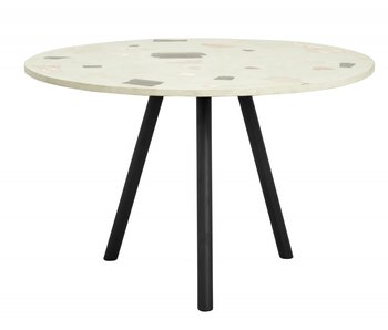 Nordal Terrazzo dining table - pistachio